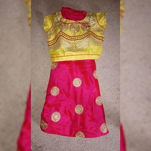 Bollywood lehenga ghaghra choli embroidered Indian